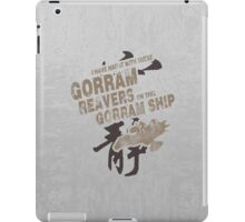 Firefly: Gorram It! iPad Case/Skin