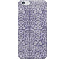 purple damask iPhone Case/Skin