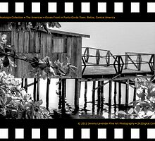 Nostalgia Collection • The Americas • Ocean Front in Punta Gorda. Belize, Central America by 242Digital