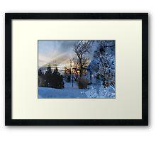 Winter Wonderland Framed Print