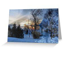Winter Wonderland Greeting Card