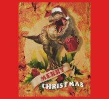 Merry Jurassic Christmas 3 Kids Clothes