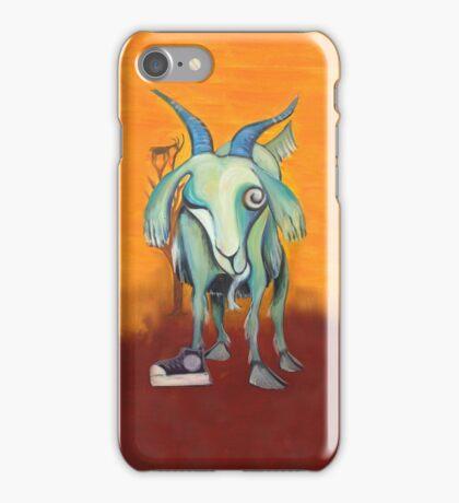 Crazy Goat iPhone Case/Skin