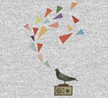 Pigeon Radio Kids Tee