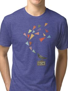 Pigeon Radio Tri-blend T-Shirt