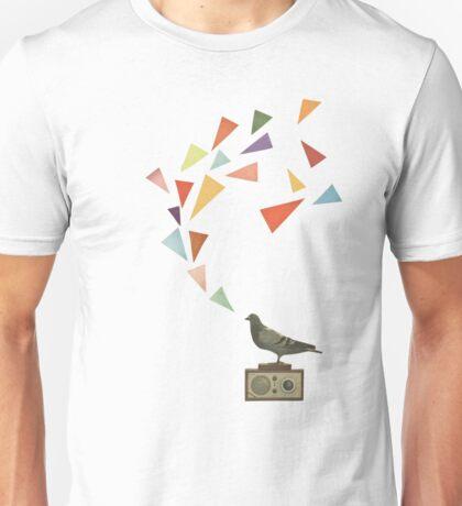 Pigeon Radio Unisex T-Shirt