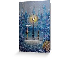 Narnia Magic Lantern Greeting Card