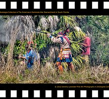Nostalgia Collection • The Americas • Seminole War Reenactment in South Florida by 242Digital