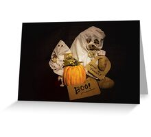 Bear Stories:  Have a Beary Happy Halloween Greeting Card