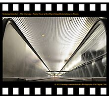 Nostalgia Collection • The Americas • People Mover at Miami International Airport in Florida Photographic Print