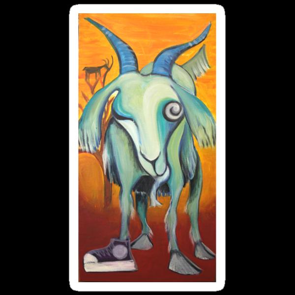 Crazy Goat by Maryevelyn Jones