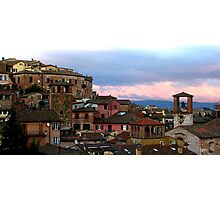 Perugia (Italy) view Photographic Print