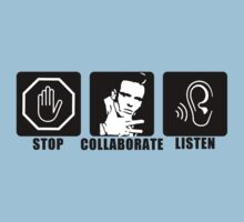 Stop, Collaborate, Listen Kids Clothes