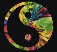 Rainbow Yin and Yang by Miraart