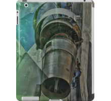 Aircraft engine iPad Case/Skin