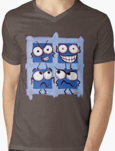 Square Squabble Mens V-Neck T-Shirt