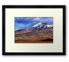 Tule Peak Framed Print