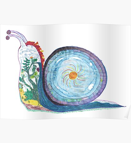 World Snail Poster