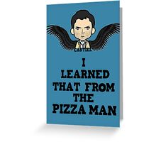 Pizza Cas Greeting Card