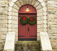 """U"" upside down. The red door by Penny Rinker"
