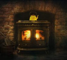 Home is where the hearth is by EmvandeBee