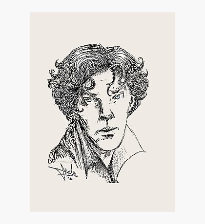 Portrait of a Consulting Detective Photographic Print