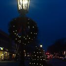 Night lights at Christmas time by Penny Rinker