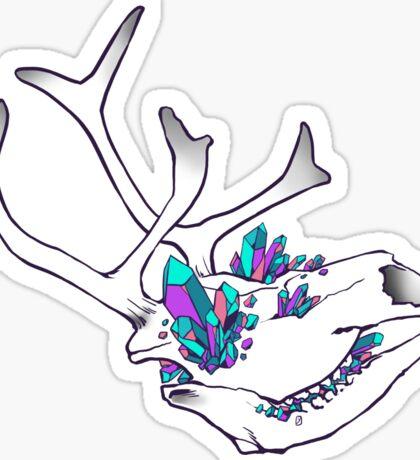 Crystal Skull - Reindeer Sticker