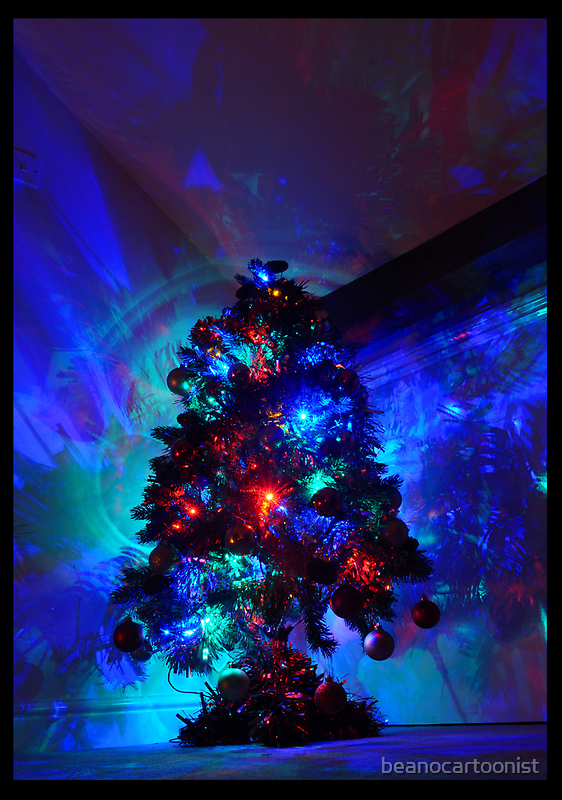 Blue Christmas by beanocartoonist
