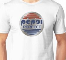 Pepsi Perfect (Back to the Future) Metallic colors Unisex T-Shirt
