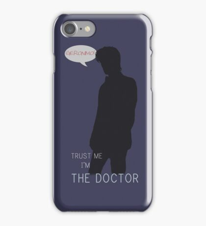 Trust me, I'm the Doctor. iPhone Case/Skin