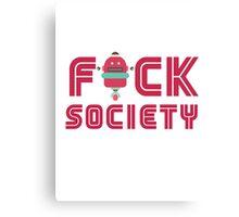 F Society Canvas Print
