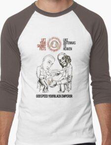 Godspeed You! No Hands Men's Baseball ¾ T-Shirt