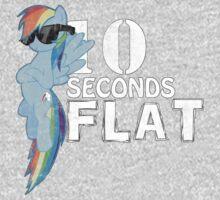 10 Seconds Flat Kids Tee