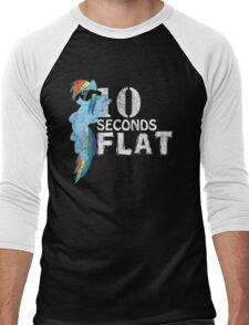 10 Seconds Flat Men's Baseball ¾ T-Shirt