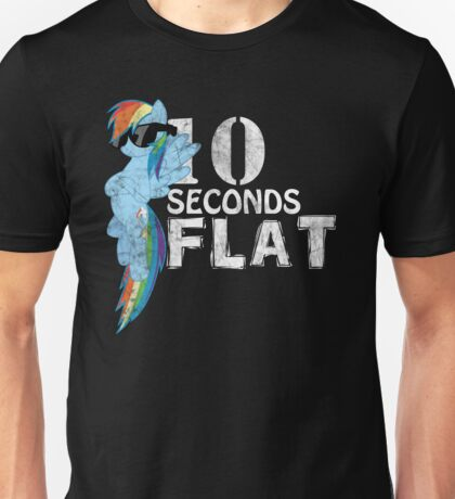 10 Seconds Flat Unisex T-Shirt