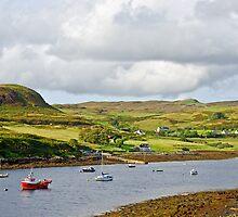 Bracadale on the Isle of Skye by Chris Thaxter