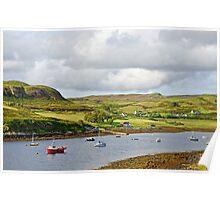 Bracadale on the Isle of Skye Poster