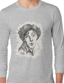 Portrait of a Consulting Detective Long Sleeve T-Shirt
