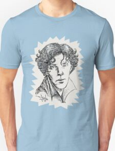 Portrait of a Consulting Detective Unisex T-Shirt