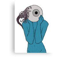 EyeBall Lady Canvas Print