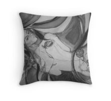 A Body of Roses to Touch the Heart Throw Pillow