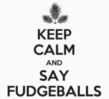 FudgeBalls (Black Text) by Tom Clancy