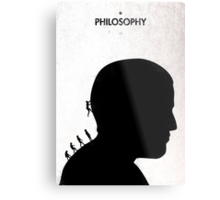 99 Steps of Progress - Philosophy Metal Print