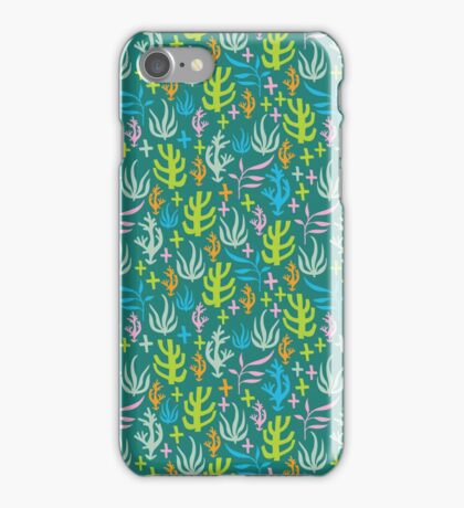 Seaweed Pattern iPhone Case/Skin