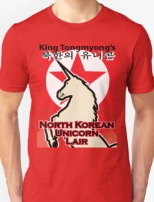 North Korean Unicorn Lair T-Shirt