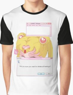 Sailor Moon - Crybaby Graphic T-Shirt