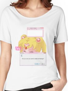 Sailor Moon - Crybaby Women's Relaxed Fit T-Shirt