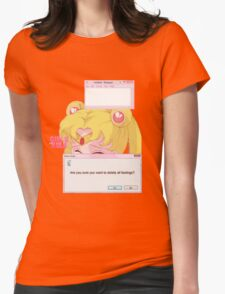 Sailor Moon - Crybaby Womens Fitted T-Shirt