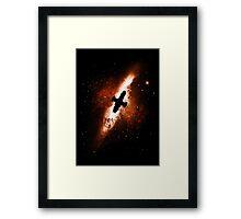Firefly in the Sky Framed Print